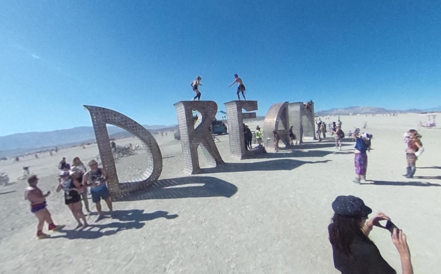 Look around at Burning Man 2015