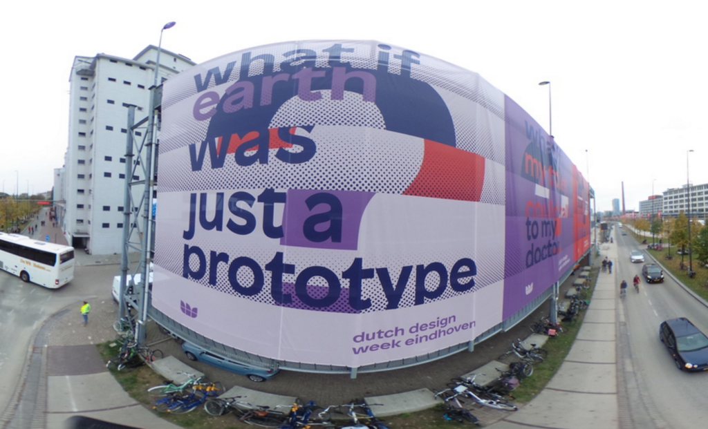 Strijp-S during #DDW2015 bird's eye view