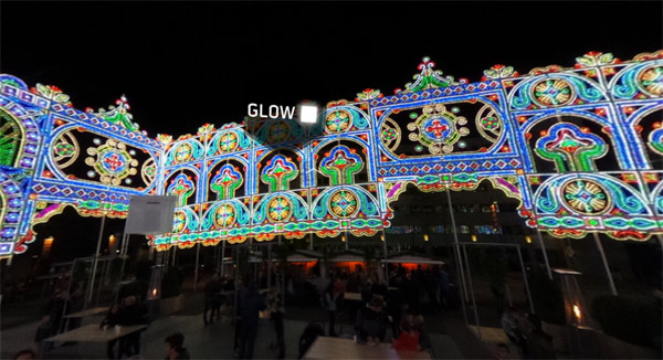 GLOW 2015 virtual reality tour