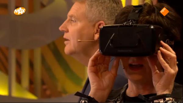 Omroep Max en virtual reality met de VRmaster cardboard