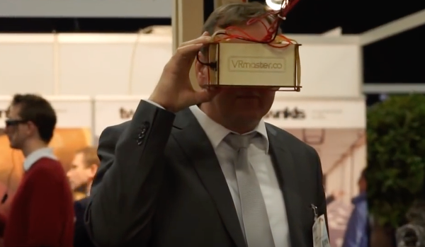 VRmaster on the Virtual Revolution fair