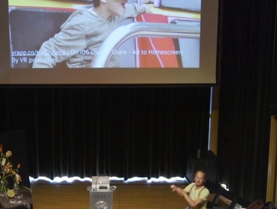 Detlef La Grand about web-based VR and Marketing (in Dutch)