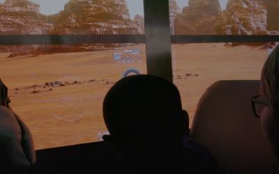Virtual reality fieldtrip to Mars