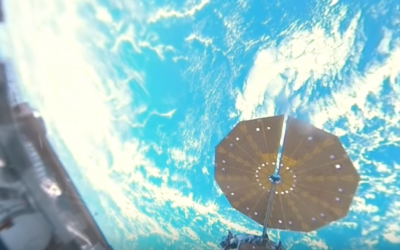 Space 360: First-ever panoramic view of Earth from aboard Intl Space Station