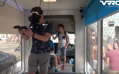 VRROOM mobile virtual reality escape room truck
