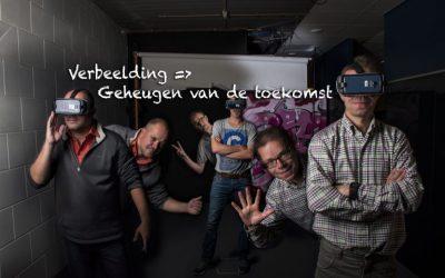 Designteam Virtual Reality binnen ROC de Leijgraaf samen met VRmaster