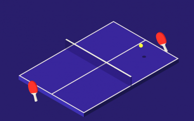 Konterball virtual reality ping pong