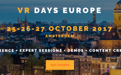 Join VRmaster at the VR Days Amsterdam 2017