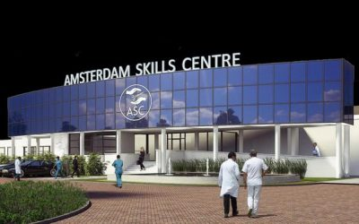 UMC  internationaal trainingscentrum met virtual reality
