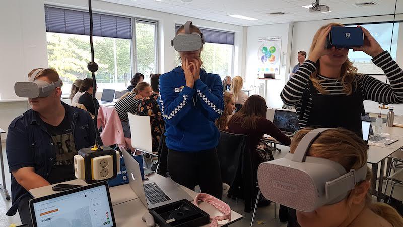Breng de praktijk naar de klas met Virtual Reality
